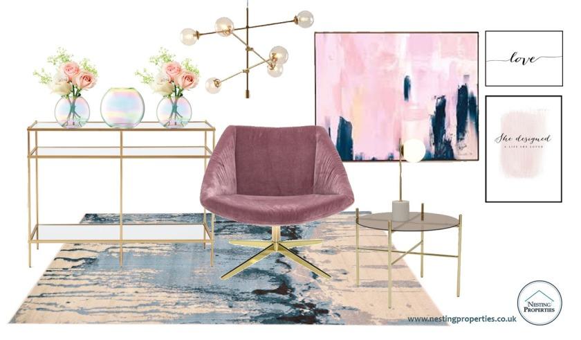 The Pink room Moodboard